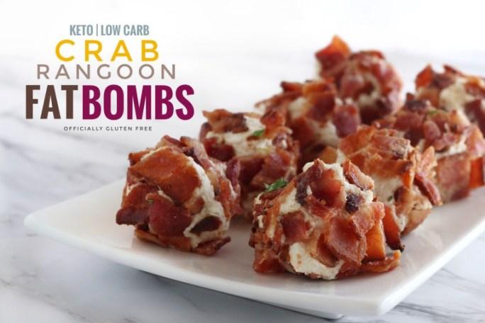 crab rangoon fat bombs